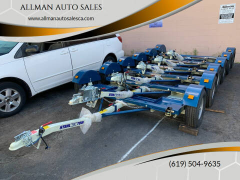 2020 Stehl Tow Tow Dolly for sale at ALLMAN AUTO SALES in San Diego CA