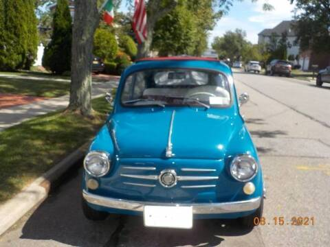 1962 FIAT 600 for sale at Classic Car Deals in Cadillac MI
