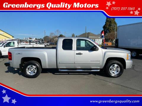 2011 Chevrolet Silverado 1500 for sale at Greenbergs Quality Motors in Napa CA