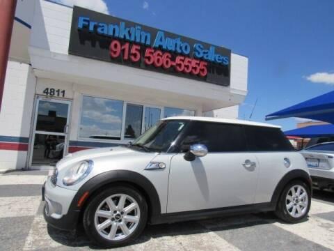 2013 MINI Hardtop for sale at Franklin Auto Sales in El Paso TX