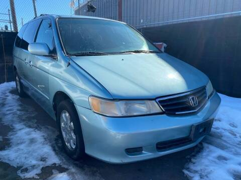 2004 Honda Odyssey for sale at New Wave Auto Brokers & Sales in Denver CO
