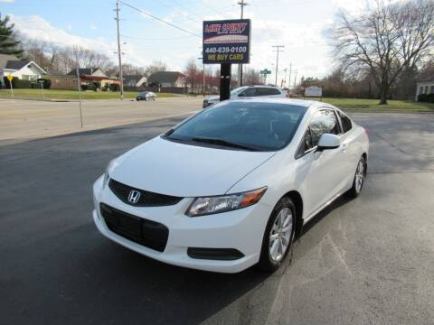 2012 Honda Civic for sale at Lake County Auto Sales in Painesville OH