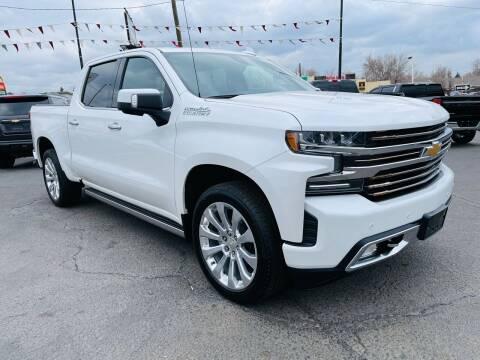 2019 Chevrolet Silverado 1500 for sale at Lion's Auto INC in Denver CO
