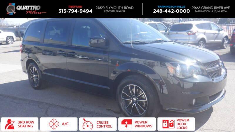 2018 Dodge Grand Caravan for sale at Quattro Motors 2 - 1 in Redford MI