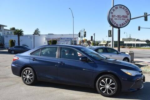 2015 Toyota Camry for sale at San Mateo Auto Sales in San Mateo CA