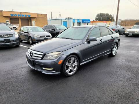 2011 Mercedes-Benz C-Class for sale at Image Auto Sales in Dallas TX