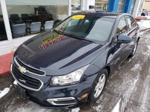 2016 Chevrolet Cruze Limited for sale at AutoMotion Sales in Franklin OH