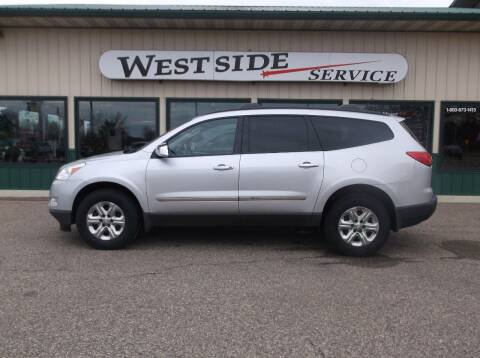 2012 Chevrolet Traverse for sale at West Side Service in Auburndale WI