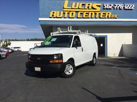 2013 Chevrolet Express Cargo for sale at Lucas Auto Center in South Gate CA