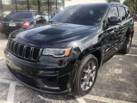 2020 Jeep Grand Cherokee for sale at WHEEL UNIK AUTOMOTIVE & ACCESSORIES INC in Orlando FL