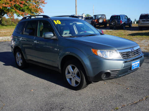 2010 Subaru Forester for sale at Crestwood Auto Sales in Swansea MA