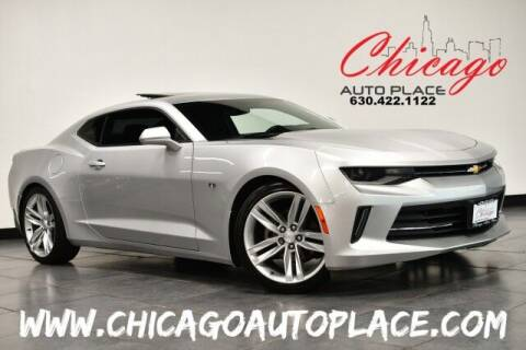 2018 Chevrolet Camaro for sale at Chicago Auto Place in Bensenville IL