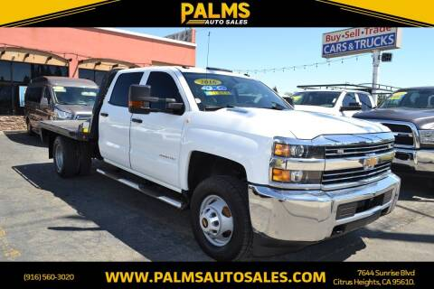 2016 Chevrolet Silverado 3500HD for sale at Palms Auto Sales in Citrus Heights CA