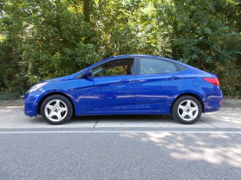 2013 Hyundai Accent for sale at A & P Automotive in Montgomery AL