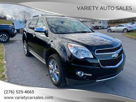 2011 Chevrolet Equinox for sale at Variety Auto Sales in Abingdon VA