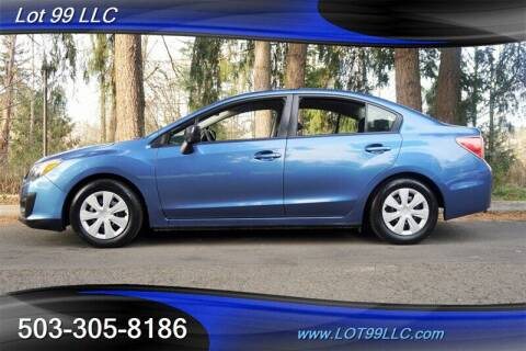 2014 Subaru Impreza for sale at LOT 99 LLC in Milwaukie OR