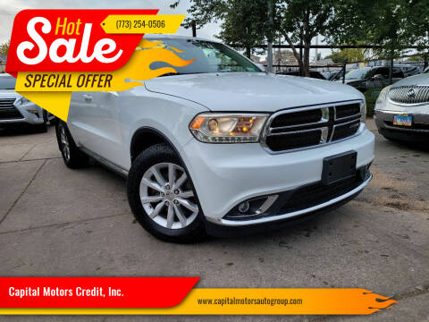 2015 Dodge Durango for sale at Capital Motors Credit, Inc. in Chicago IL