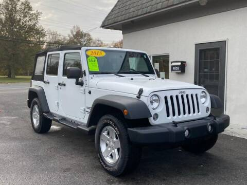 2015 Jeep Wrangler Unlimited for sale at Vantage Auto Group Tinton Falls in Tinton Falls NJ