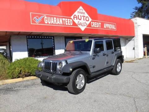 2013 Jeep Wrangler Unlimited for sale at Oak Park Auto Sales in Oak Park MI