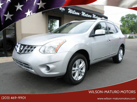 2013 Nissan Rogue for sale at Wilson-Maturo Motors in New Haven CT
