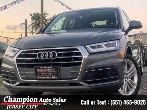 2018 Audi Q5 for sale at CHAMPION AUTO SALES OF JERSEY CITY in Jersey City NJ