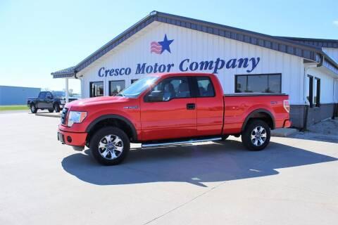 2012 Ford F-150 for sale at Cresco Motor Company in Cresco IA