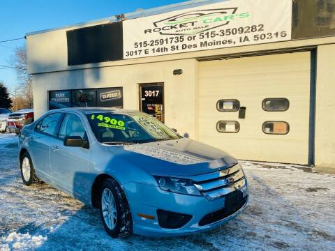 2012 Ford Fusion for sale at Rocket Cars Auto Sales LLC in Des Moines IA