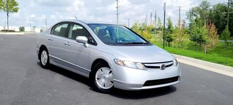 2008 Honda Civic for sale at BOOST MOTORS LLC in Sterling VA