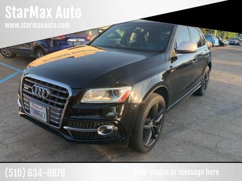 2014 Audi SQ5 for sale at StarMax Auto in Fremont CA