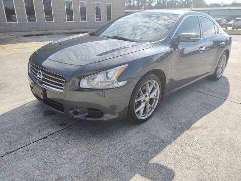 2010 Nissan Maxima for sale at WIGGLES AUTO SALES INC in Mableton GA