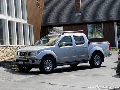 2011 Nissan Frontier for sale at Cupples Car Company in Belmont NH