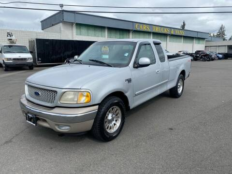 1999 Ford F-150 for sale at Vista Auto Sales in Lakewood WA