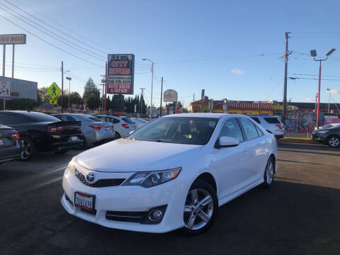 2014 Toyota Camry for sale at City Motors in Hayward CA