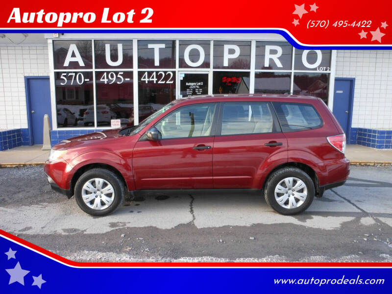 2010 Subaru Forester for sale at Autopro Lot 2 in Sunbury PA