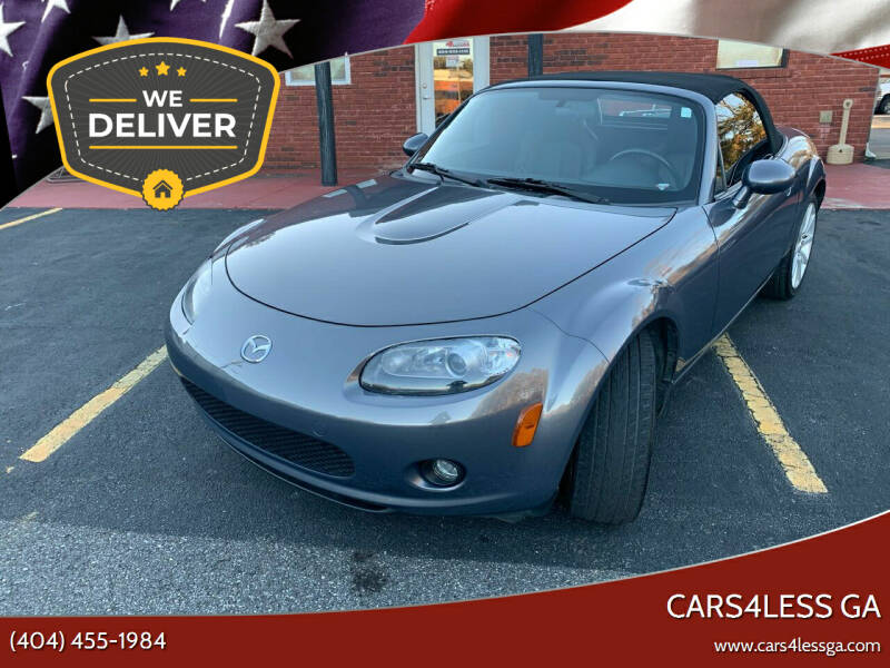 2007 Mazda MX-5 Miata for sale at Cars4Less GA in Alpharetta GA