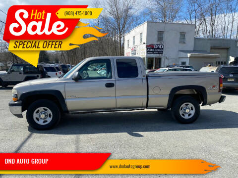 2001 Chevrolet Silverado 1500 for sale at DND AUTO GROUP in Belvidere NJ