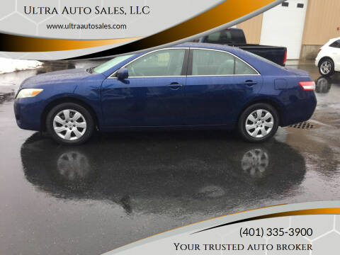 2010 Toyota Camry for sale at Ultra Auto Sales, LLC in Cumberland RI
