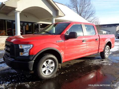 2017 Ford F-150 for sale at DEALS UNLIMITED INC in Portage MI