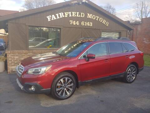 2015 Subaru Outback for sale at Fairfield Motors in Fort Wayne IN