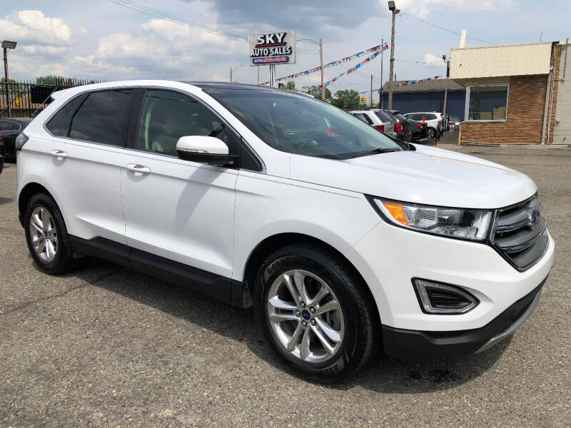2016 Ford Edge for sale at SKY AUTO SALES in Detroit MI