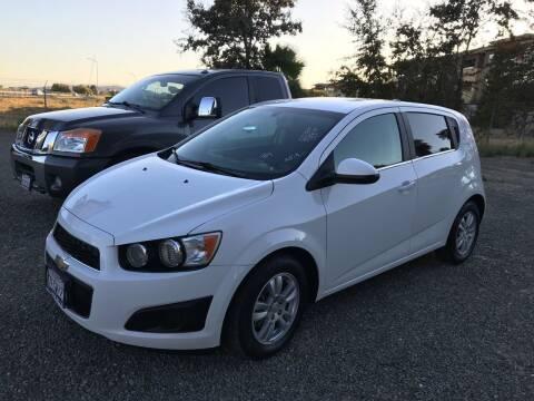 2014 Chevrolet Sonic for sale at Quintero's Auto Sales in Vacaville CA