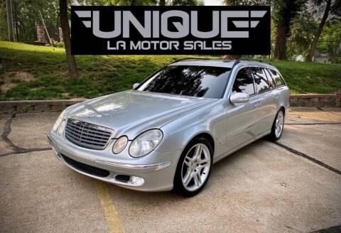 2005 Mercedes-Benz E-Class for sale at Unique LA Motor Sales LLC in Byrnes Mill MO