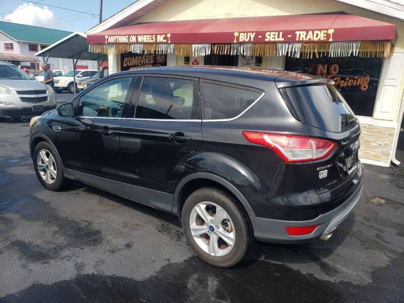 2013 Ford Escape for sale at ANYTHING ON WHEELS INC in Deland FL