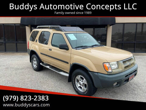 2001 Nissan Xterra for sale at Buddys Automotive Concepts LLC in Bryan TX