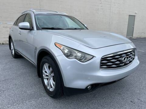 2011 Infiniti FX35 for sale at CROSSROADS AUTO SALES in West Chester PA