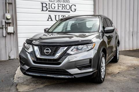 2017 Nissan Rogue for sale at Big Frog Auto in Cleveland TN