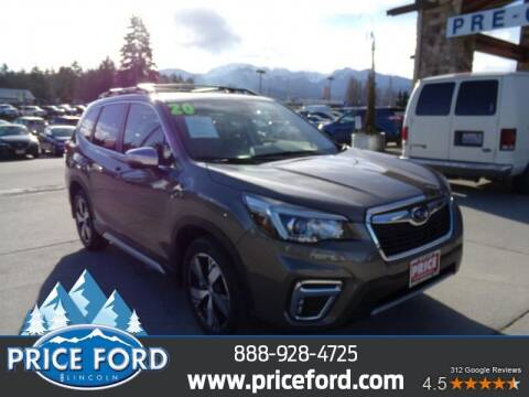 2020 Subaru Forester for sale at Price Ford Lincoln in Port Angeles WA