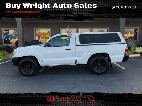 2014 Toyota Tacoma for sale at Buy Wright Auto Sales in Rogers AR