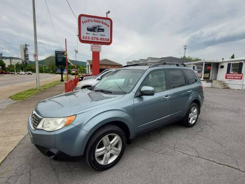 2010 Subaru Forester for sale at Ford's Auto Sales in Kingsport TN