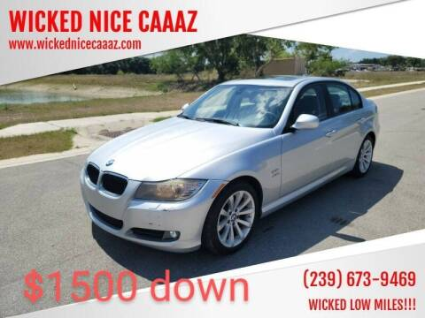 2010 BMW 3 Series for sale at WICKED NICE CAAAZ in Cape Coral FL